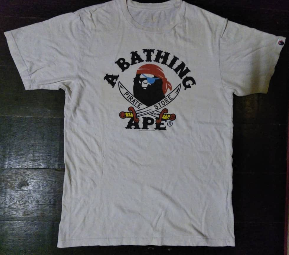 8c8e4980d A bathing ape pirate, Men's Fashion, Clothes, Tops on Carousell