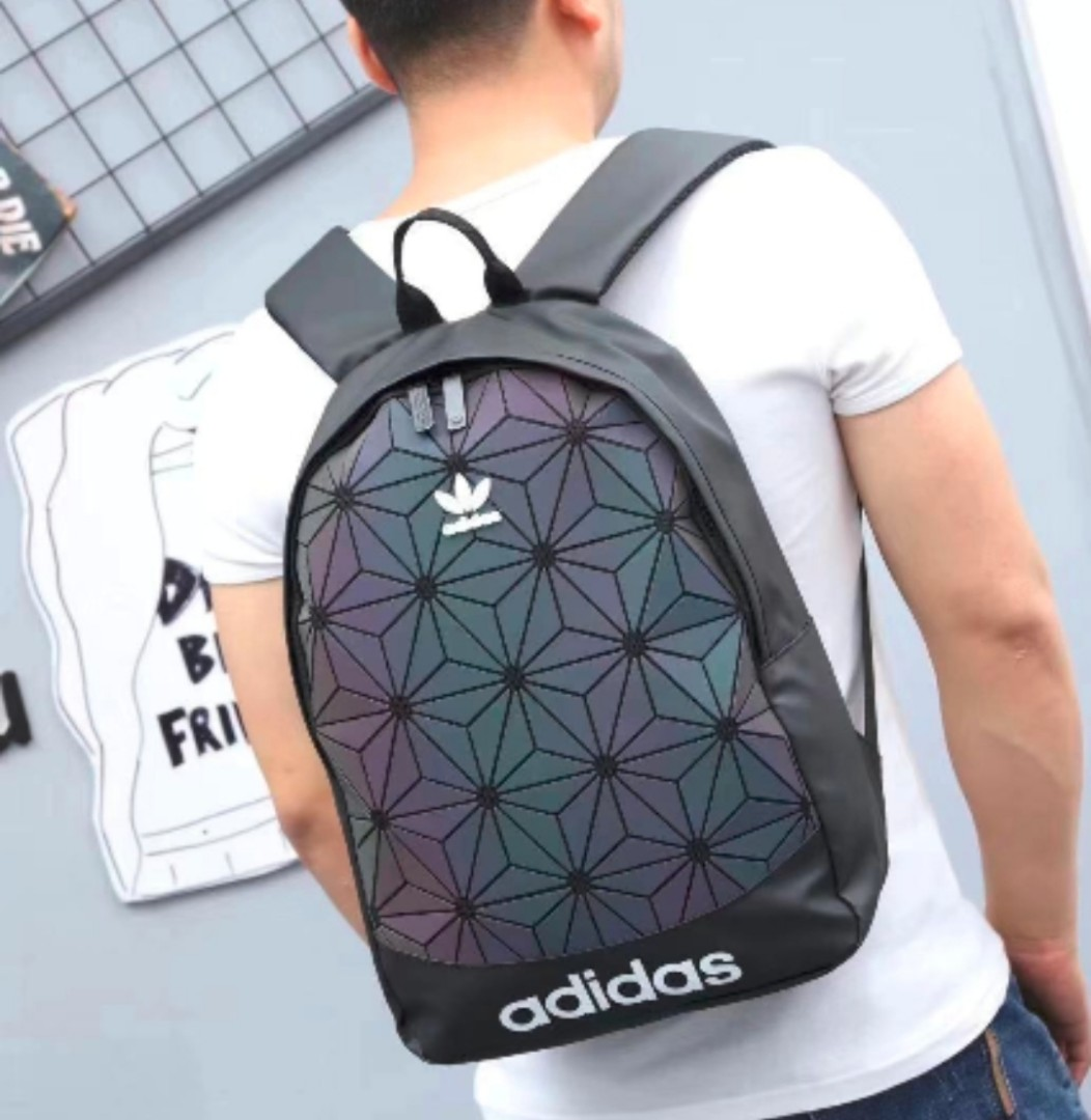 31b267b6bee1 Adidas Issey Miyake 3D Diamond Backpack Bag Geometry Unisex School ...