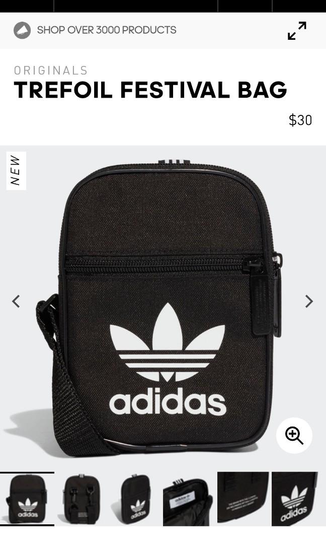 dc422be4e2 Adidas Originals Trefoil Festival Bag