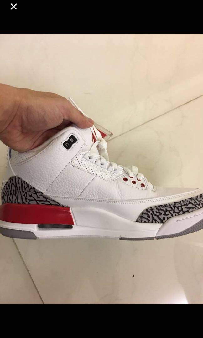 reputable site 768f7 2fd55 Air Jordan 3 Katrina, Men s Fashion, Footwear, Sneakers on Carousell
