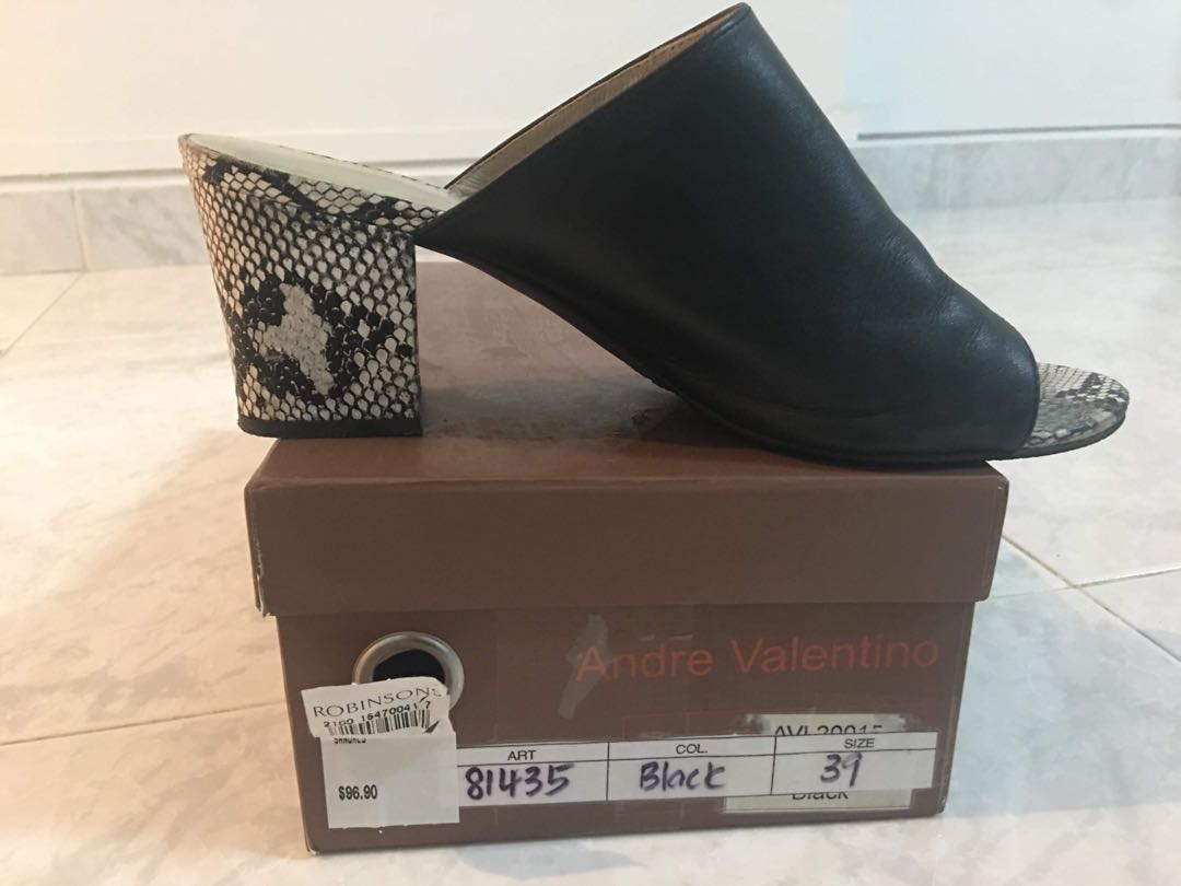 2009d9c48b2e1 Andre Valentino Heels, Women's Fashion, Shoes, Heels on Carousell