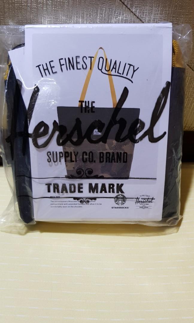 9dfbb6578d4 Authentic Starbucks Herschel Tote Bag, Women's Fashion, Bags ...