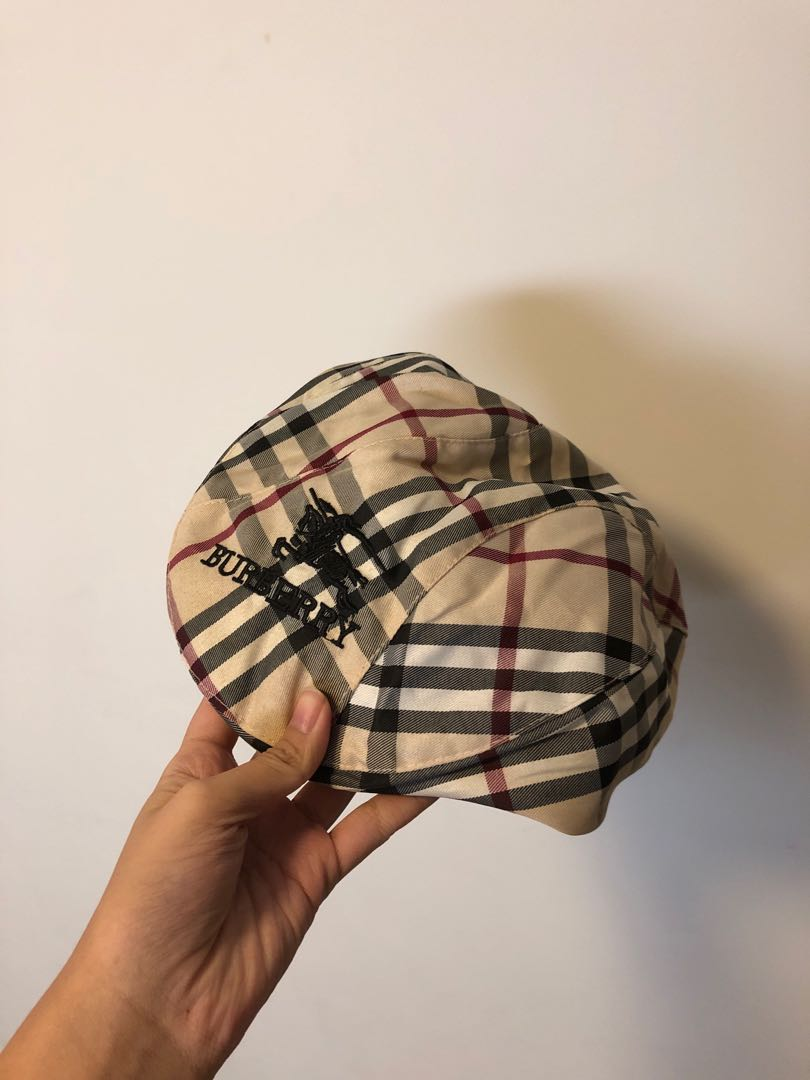 Burberry Plaid Hat Cap ebc5636a7f9