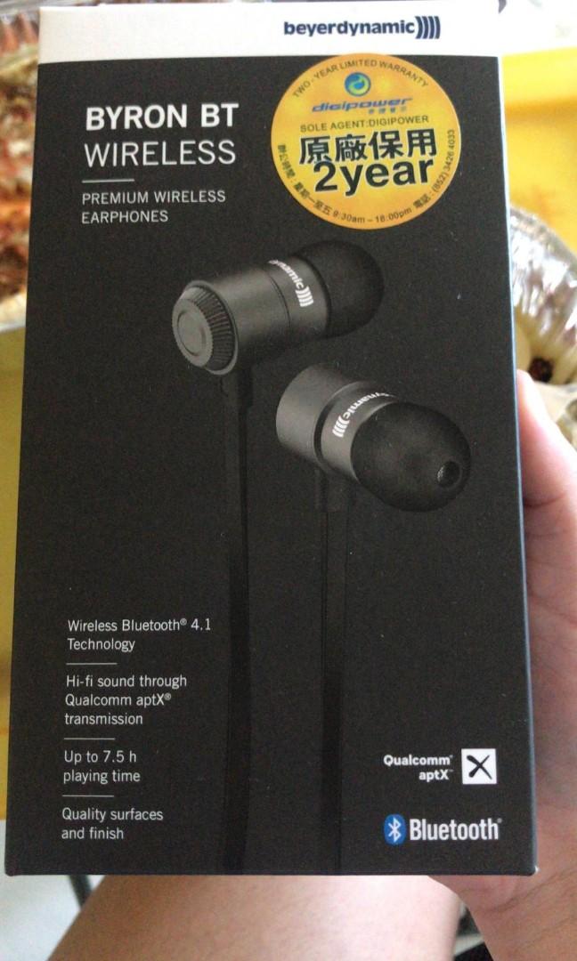 b909e05eb7d Byron BT wireless earphones, Electronics, Audio on Carousell