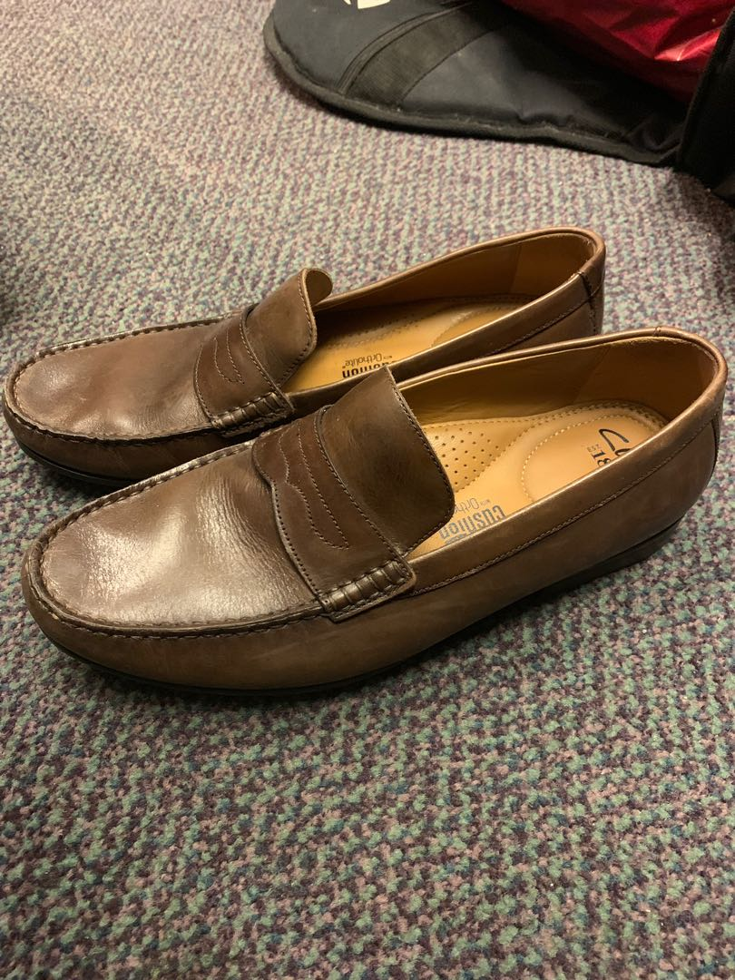 459daf1c21ccc Clarks men's loafers, Men's Fashion, Footwear, Formal Shoes on Carousell