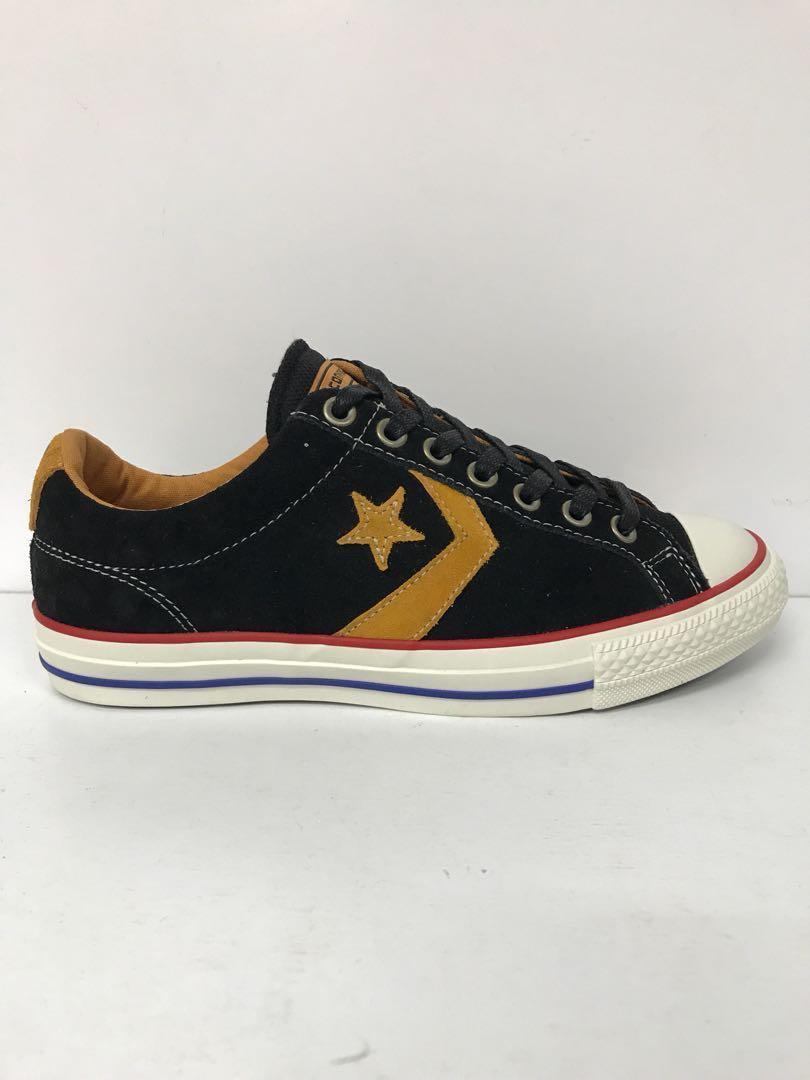345513e37994 ... france converse star player ev ox black gold mens fashion footwear  sneakers on carousell dd151 9f066