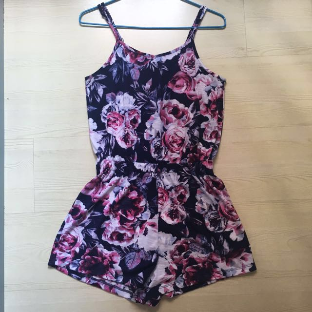 908b016ab0d cotton on floral romper