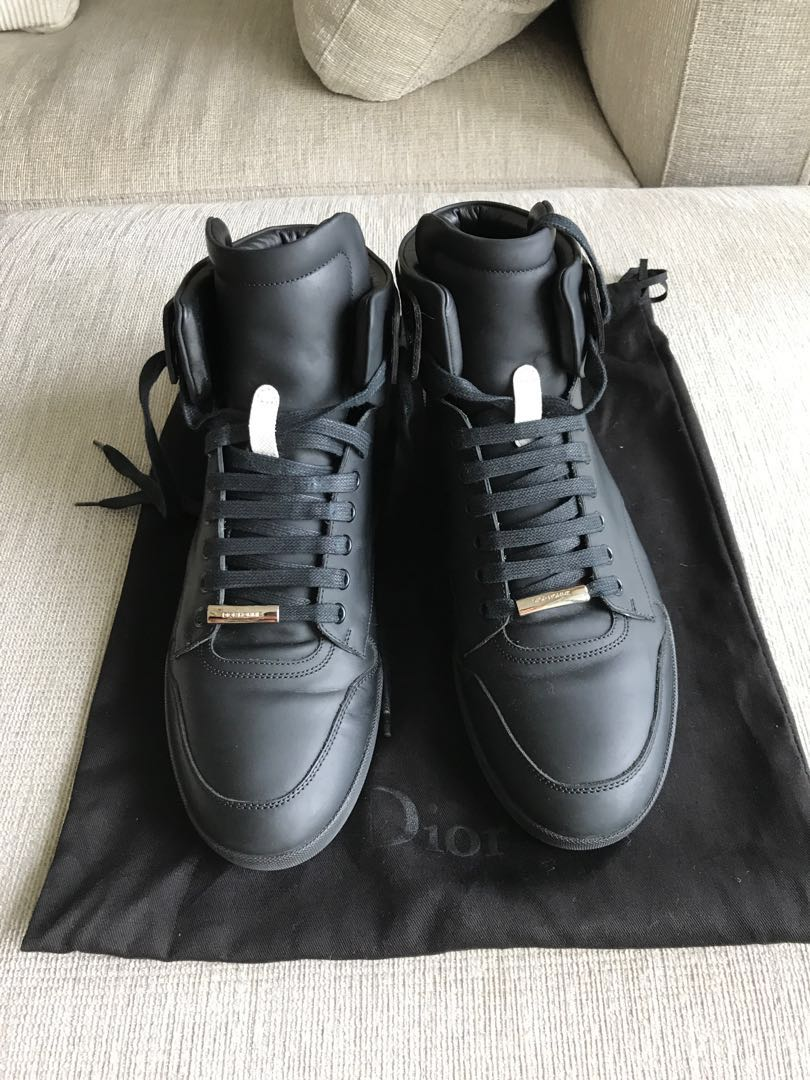 Dior Homme high top black sneakers 42 dbe068a52