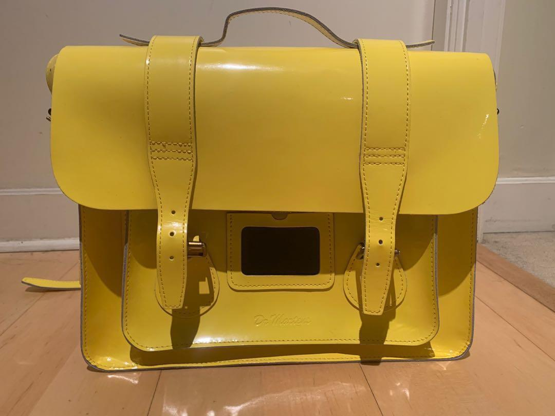 Dr Martens Yellow Leather Bag