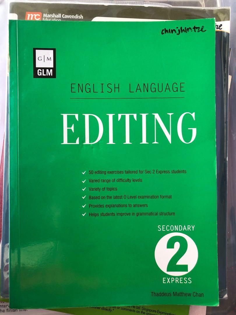 english language editing book