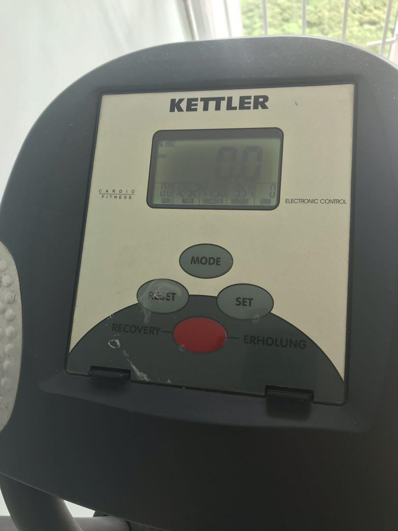 Spiksplinternieuw Kettler Verso 100 Cross Trainer, Sports, Sports & Games Equipment HT-04