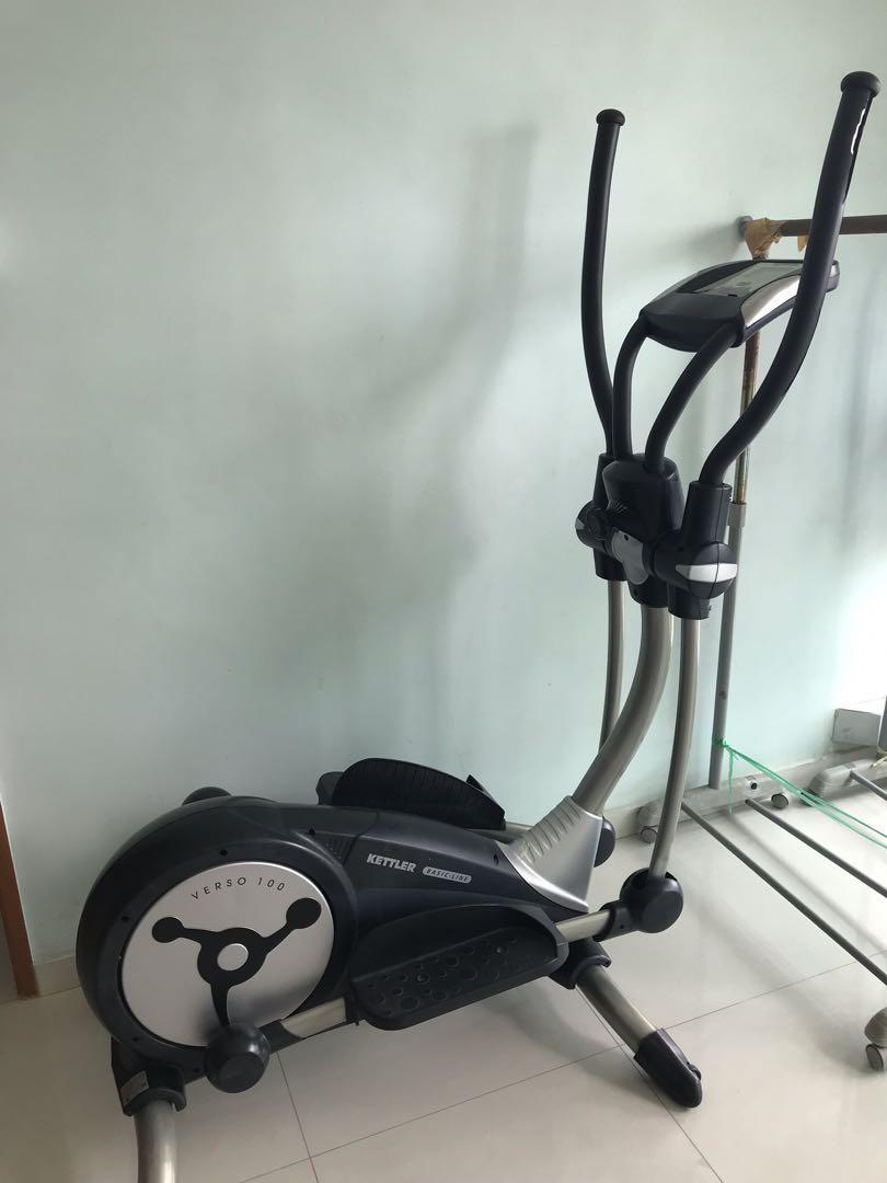 Wonderbaar Kettler Verso 100 Cross Trainer, Sports, Sports & Games Equipment MK-44