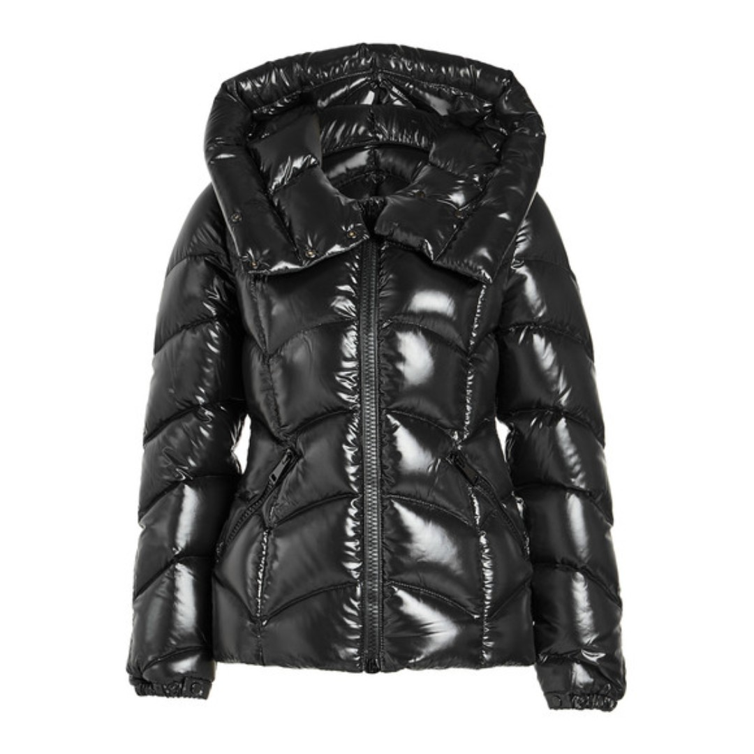 cb92e5b55 MONCLER AKEBIA BLACK DOWNFEATHER JACKET