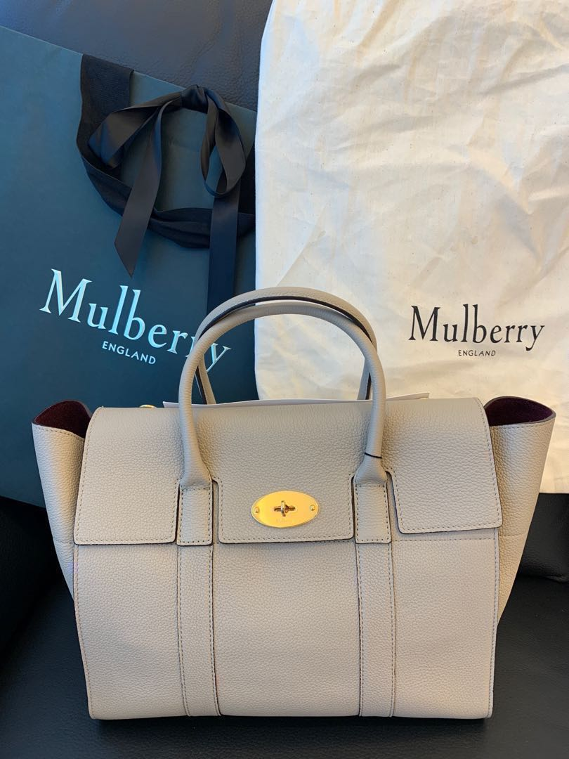 4d52032a47 Mulberry bayswater with strap small classic grain nude colour beige ...