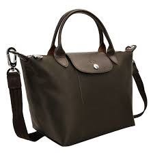b4b9eb64e698 New year sale Longchamp 1512 small size dark brown chocolate sling ...