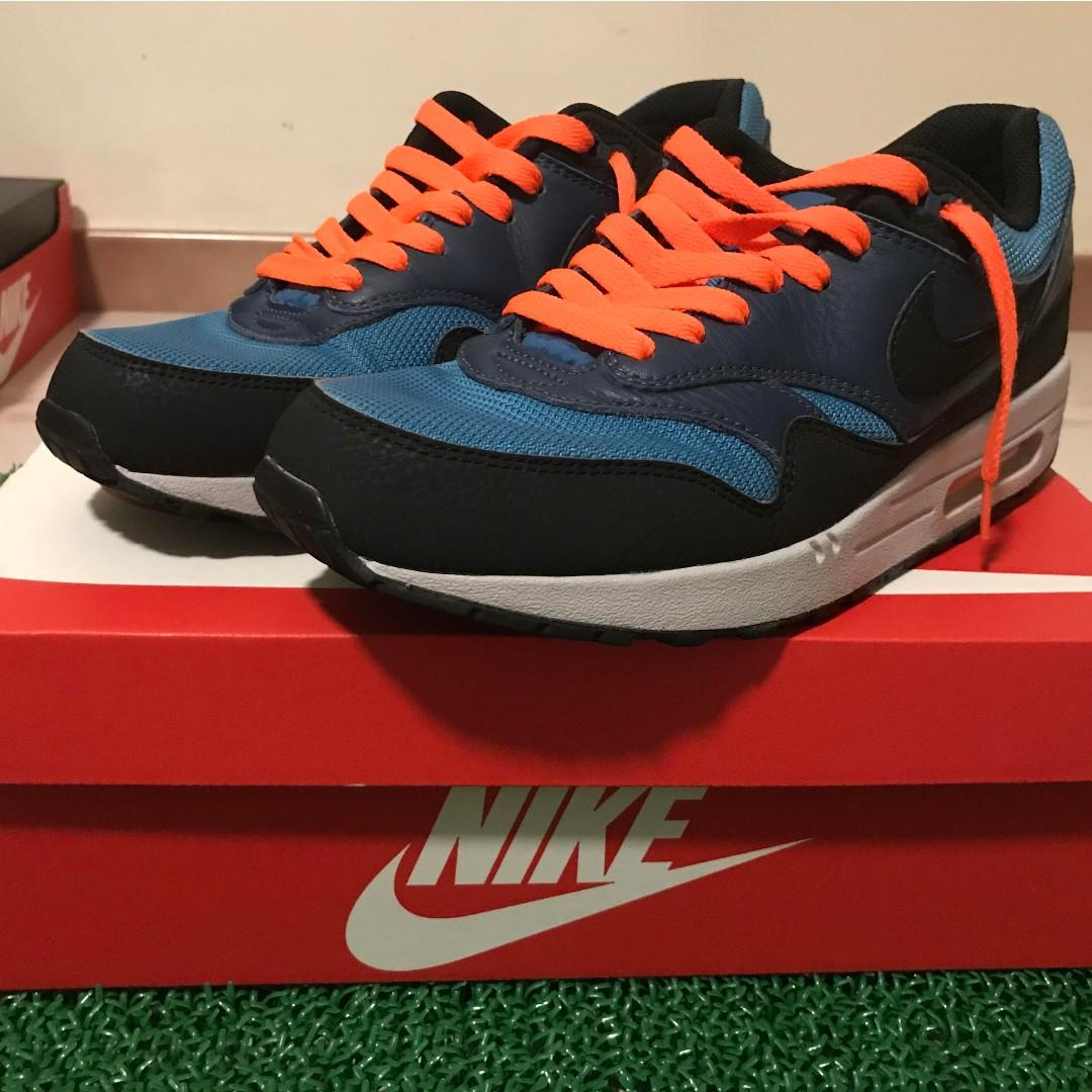super popular 1d829 c91fa Nike Air Max 1 Essential - Stratus Blue 537383 402 (UK8.5/US9.5 ...