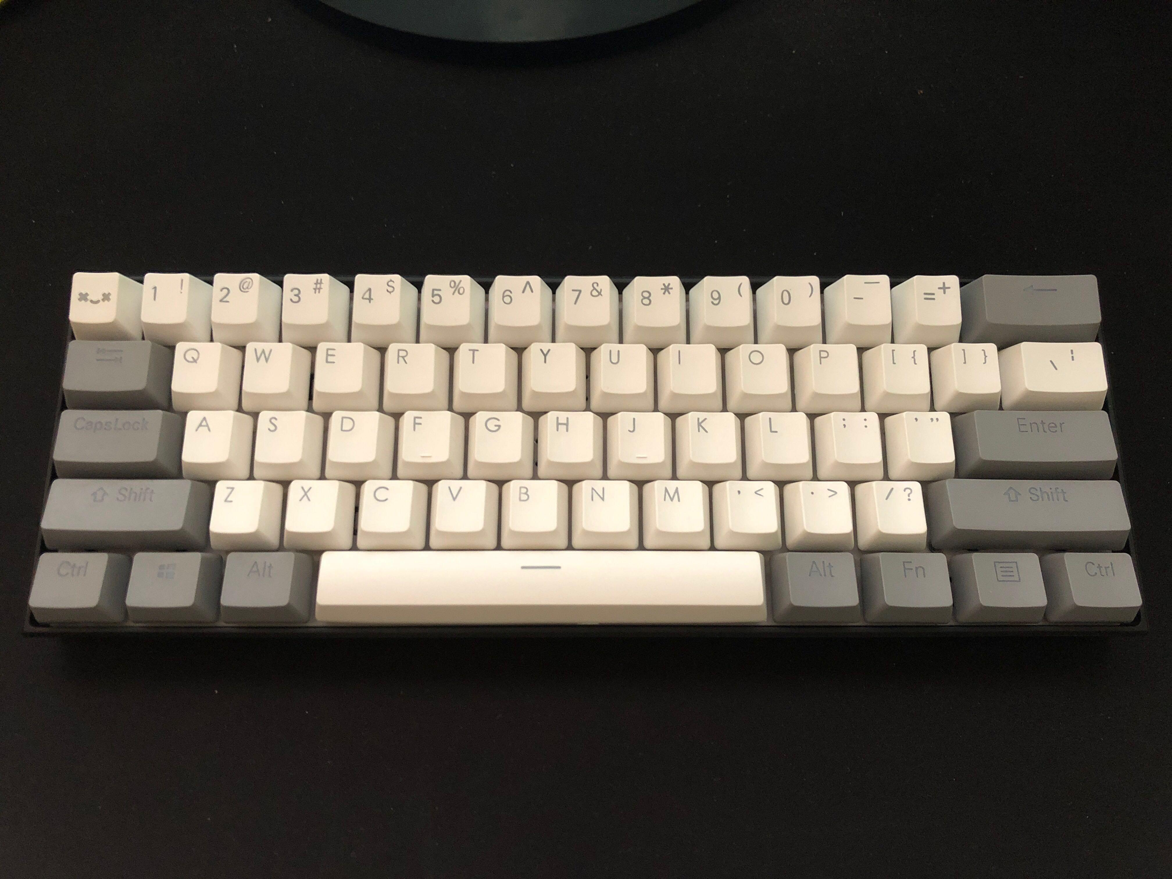 Obins Anne Pro Bluetooth Mechanical Keyboard 60% with RGB And ...