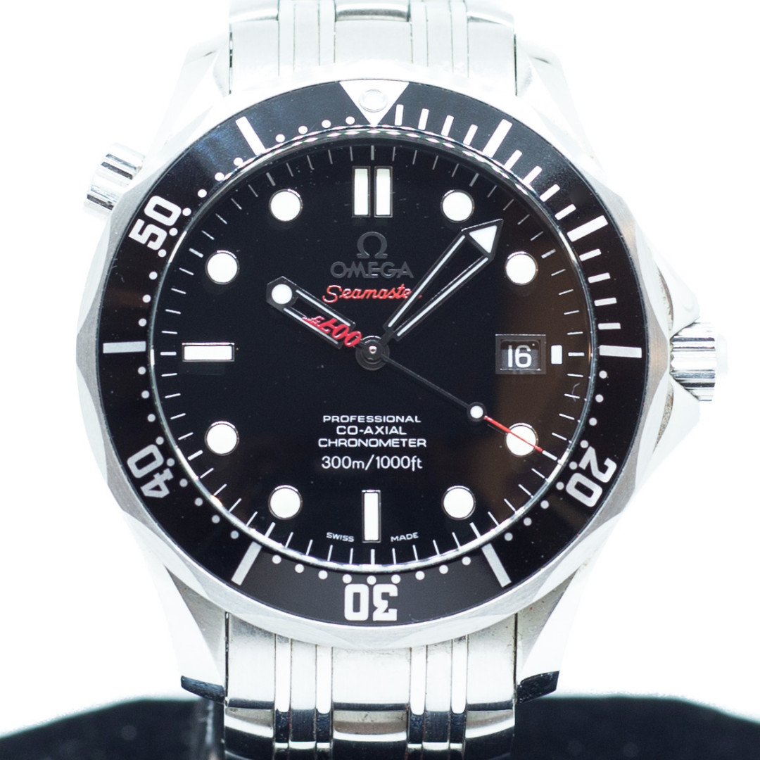 6f88c3acc24 Preowned Omega Seamaster Professional Co-Axial James Bond Edition ...