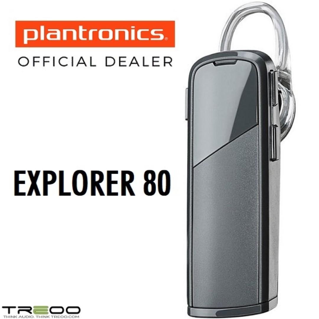 481b6cbf29c Plantronics EXPLORER 80 Wireless Bluetooth Headset, Electronics ...