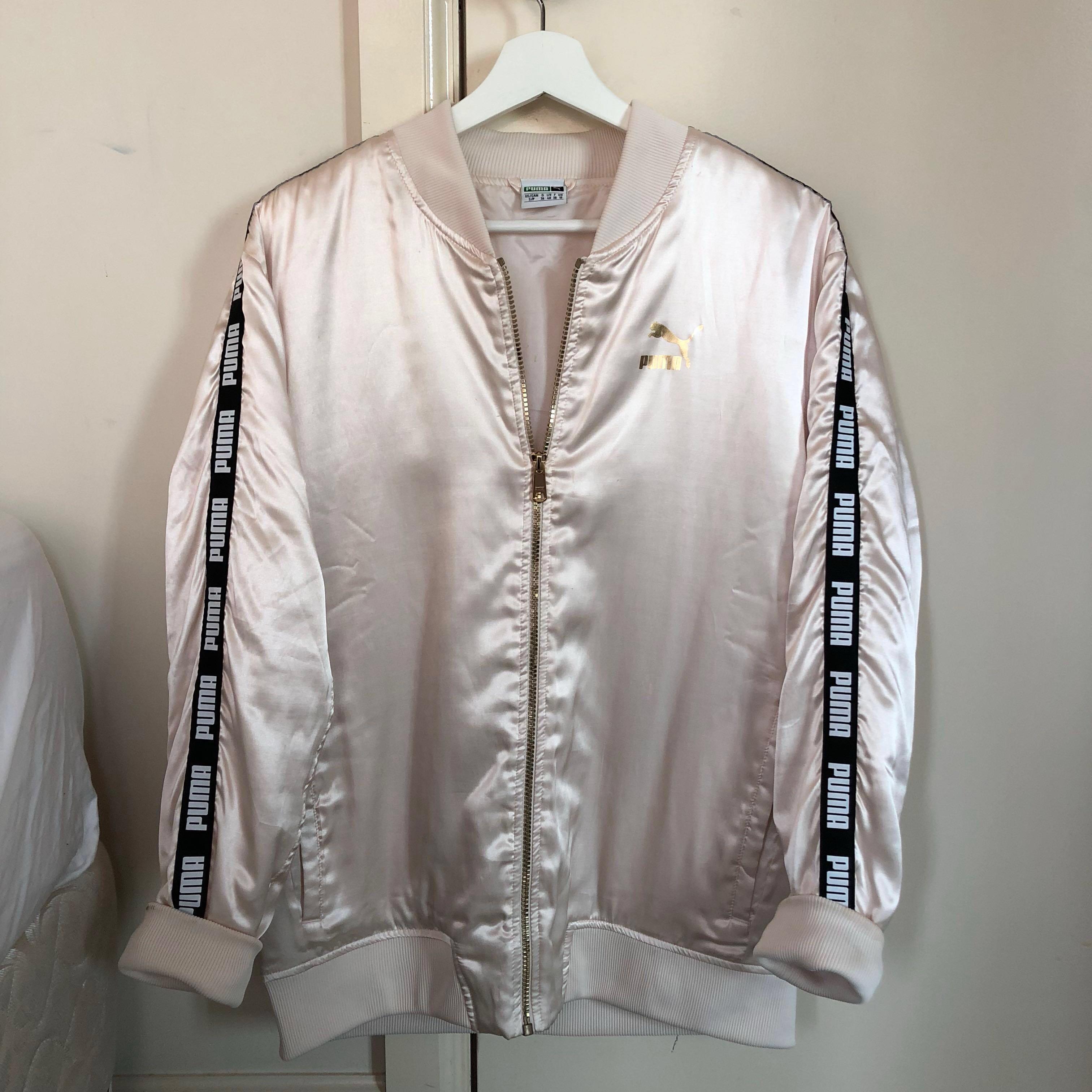PUMA Champagne Bomber Jacket