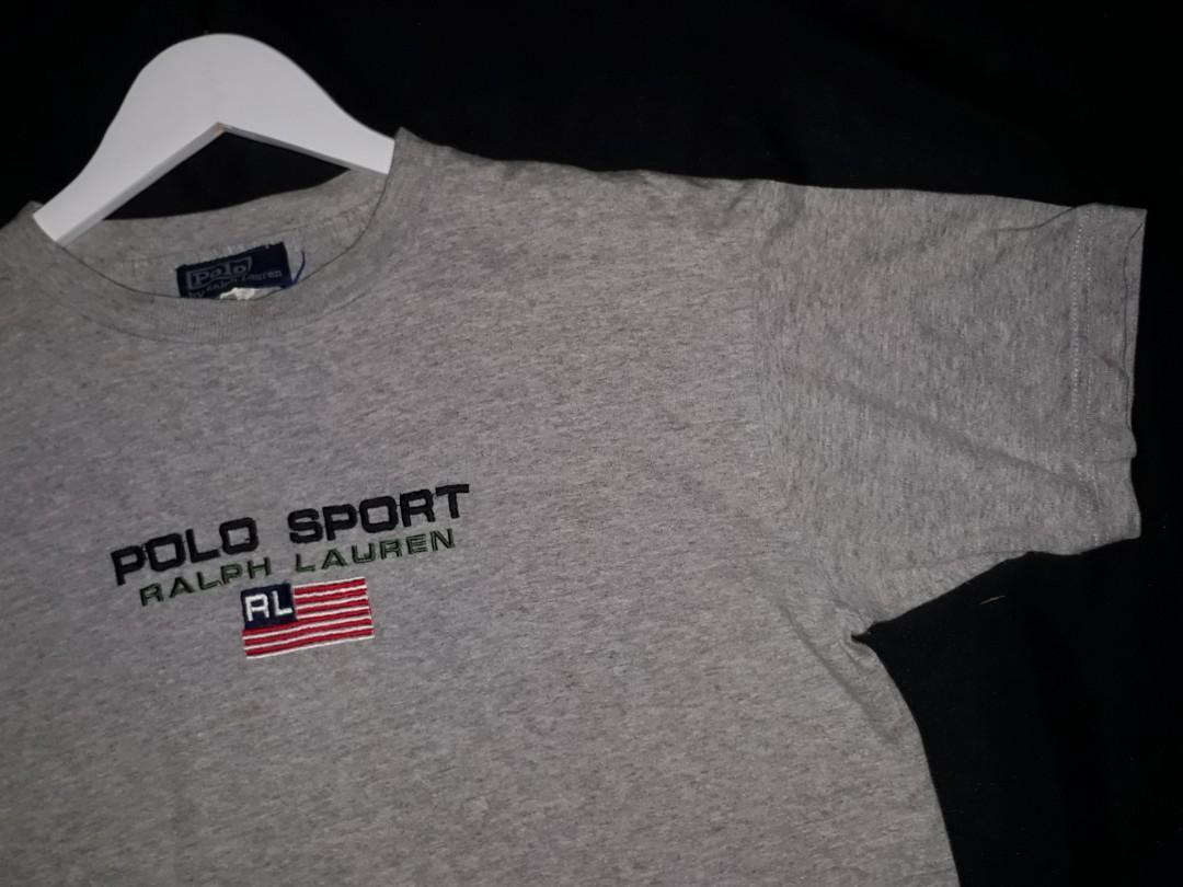 T shirts polo sport raph lauren vintage 90's