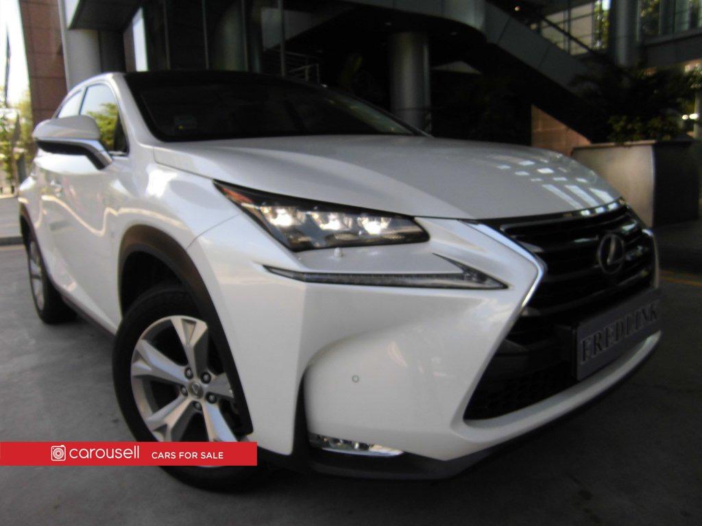 Toyota lexus nx hybrid nx300h luxury