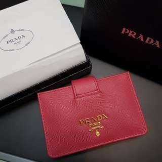 b48db60bc0aa prada saffiano card holder | Luxury | Carousell Singapore