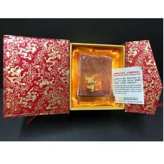 24K金鼠小擺設(國際金錢(香港)有限公司)