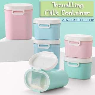Travelling Milk Containers