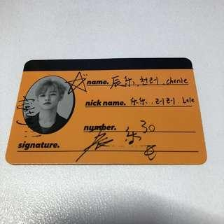 (WTS) NCT CHENLE