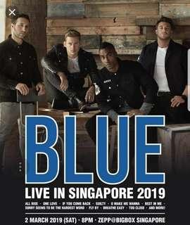 Blue Singapore concert