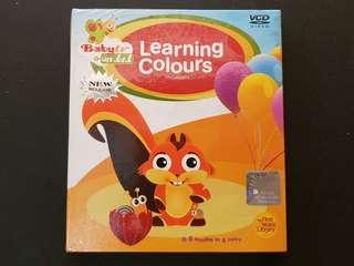 [NEW] Video CD (VCD) - Learning Colours 'First Concepts' #CNY888
