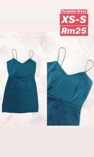 Turquoise dress #XMAS25