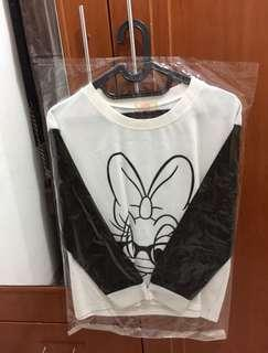 Daisy Duck Leather Sweater