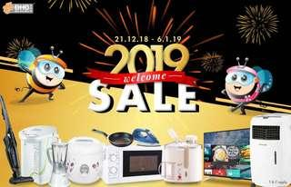 🎉 2019 Welcome Sales 🎉