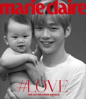 [Instock] Wanna One Kang Daniel-The Letter from Angels - Marie Claire Magazine