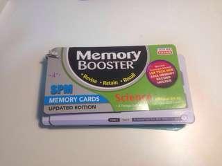 Memory booster Science-SPM Memory Cards