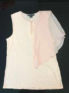 A X Armani Exchange Sleeveless Blouse (not worn before)