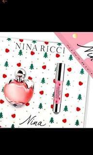 Authentic Nina by Nina Ricci Perfume Gift Set (very pretty!)