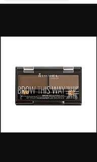 🚚 Rimmel brow this way brand new