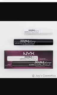 🚚 NYX double stacked mascara brand new
