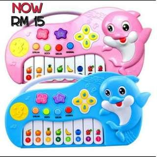 DOLPHINS PIANO (Pink)