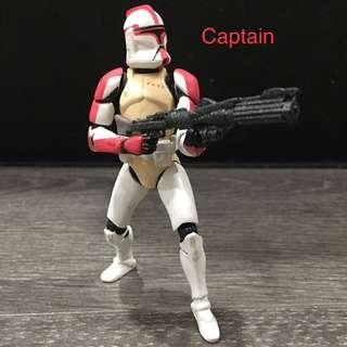 Star Wars Clone Trooper Captain (12 Points Articulations)