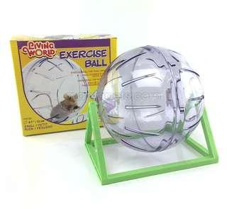 Living World Plastic Hamster Exercise Ball with Stand