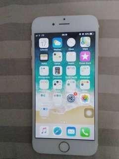 Iphone 6 64gb second ori gold
