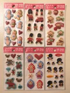 Japanese Stickers日本立體貼紙