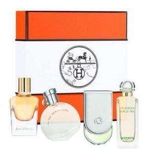 Hermes Box 迷李香水 禮盒 套裝 4x7.5ml