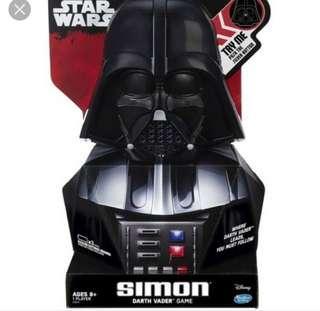 BNIB Darth Vader Simon Game