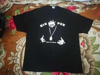 Big Pun rappers big size t shirt