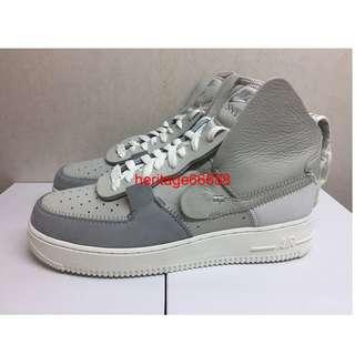 ff924a92026 Nike Air Force 1 High PSNY Grey Matte Silver US 9 9.5 AF1 Hi supreme mid